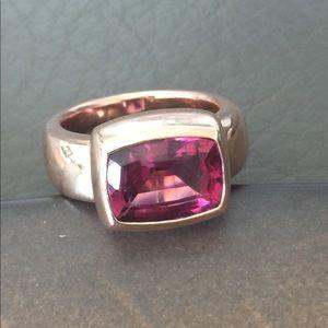 Jewelry - Breathtaking 14k Rose Gold Pink Tourmaline Ring